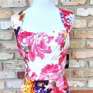NY&C womens misses 12 floral dress